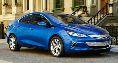 2016 Chevrolet Volt. An audience draw at the Chicago Auto Show