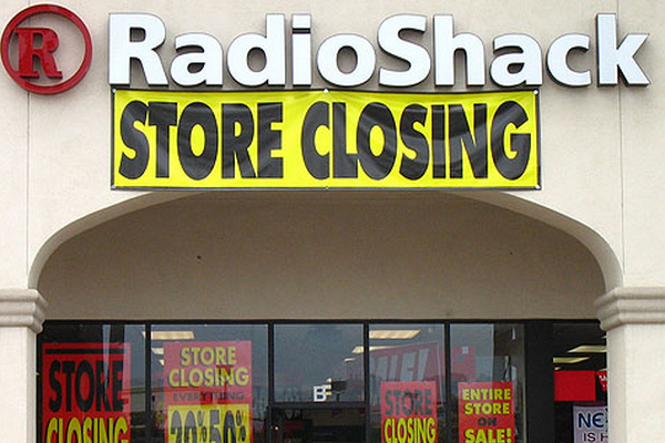Many RadioShack Stores Will Close By Summer, 2015.