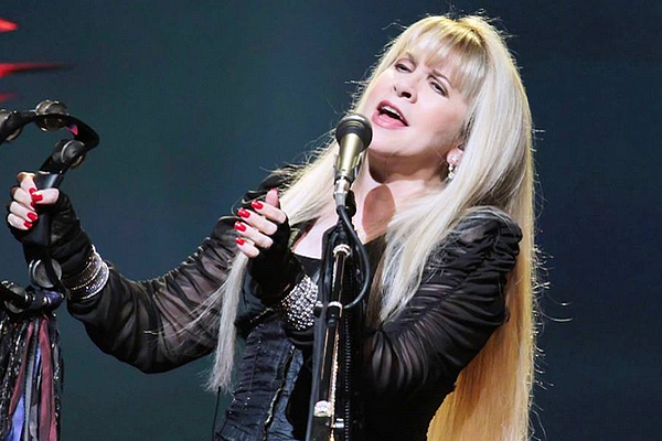 Stevie Nicks With Tambourine.