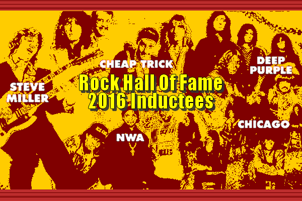 5 RockHall 2016 Inductees