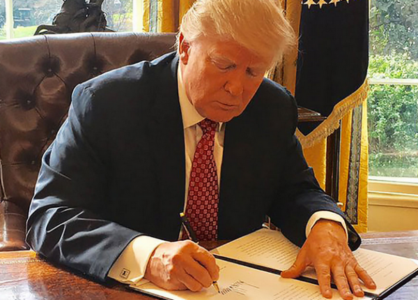 President Trump In The Oval Office Causes Corporate Prep