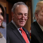 dems-vs-trump_pelosi-schumer-trump-collage_mcstreamy-imprinted_900x450