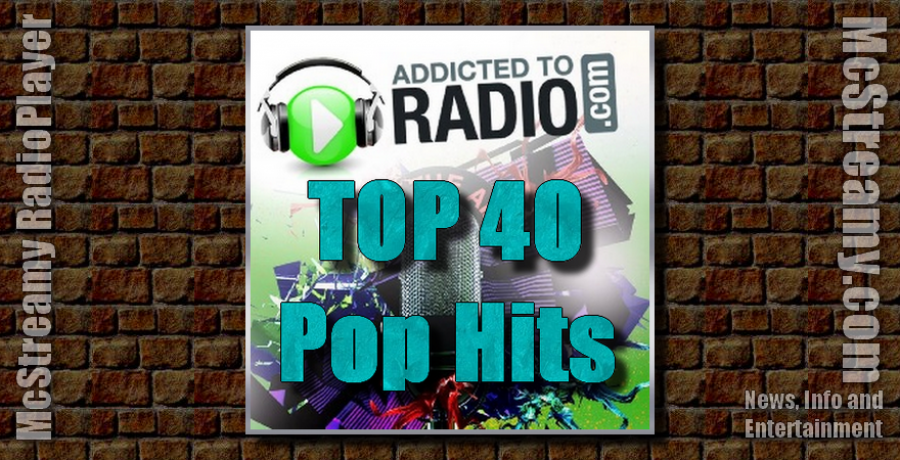 Listen to Top 40 Pop Hits in McStreamy RadioPlayer