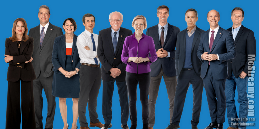 Exciting First Night of Democrats Running for President on CNN. See Info.